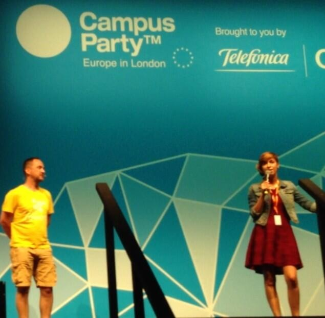 Campus Party 2013 – Video and slides from my lightning talk about Rails GirlsBrussels